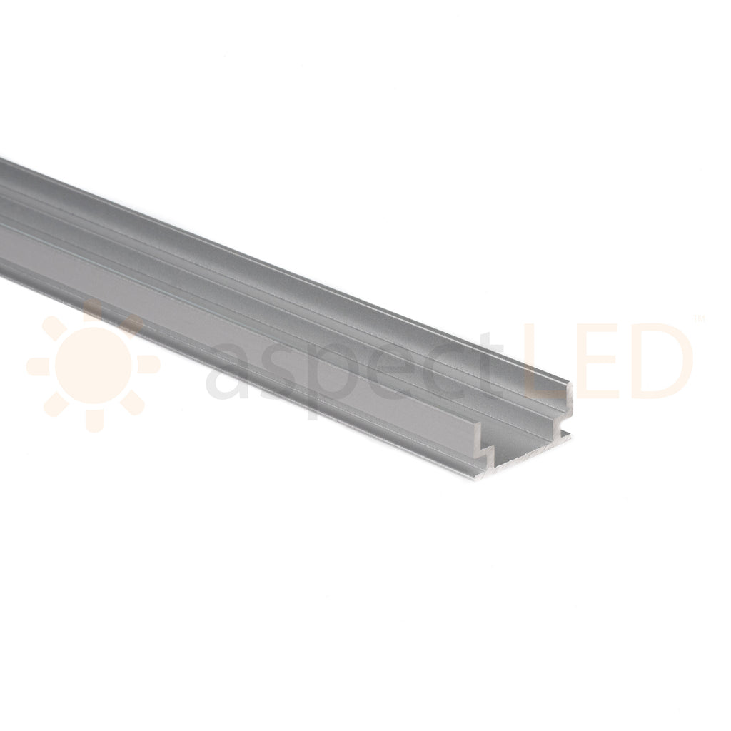 In floor aluminum mounting channel for led strip lights aspectled mouse over image above to zoom in dailygadgetfo Gallery