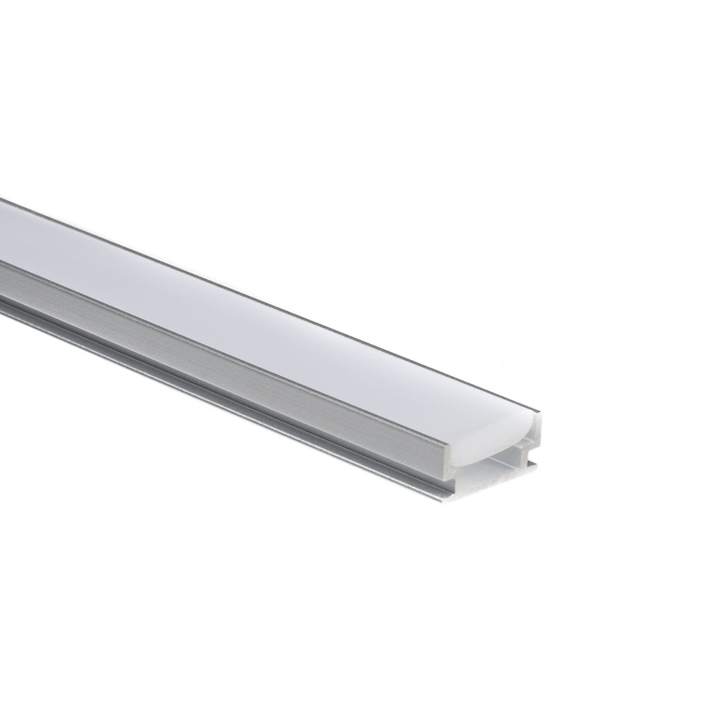 Strip light accessories aluminum mounting channeltrack aspectled in floor aluminum mounting channel for led strip lights tilestoneconcrete aloadofball Image collections