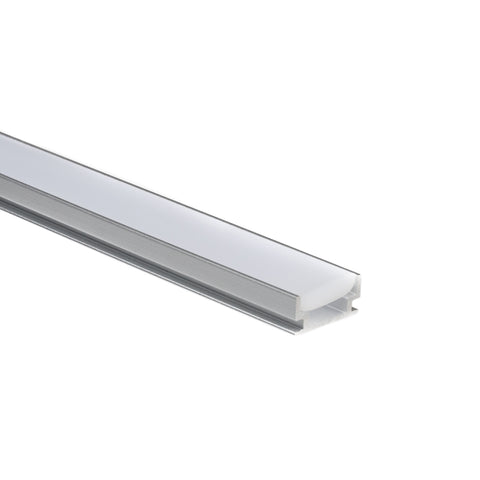 In-Floor Aluminum Mounting Channel for LED Strip Lights (Tile/Stone/Concrete/Wood)