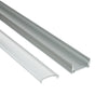 NSF Certified Aluminum Mounting Channel for LED Strip Lights - Commercial Food Safety