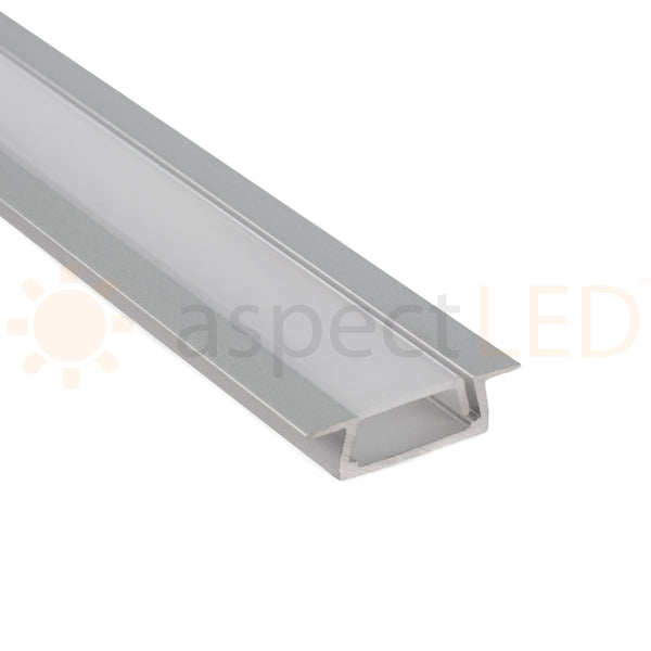 Recessed Alum Mounting Channel For Flexible Strip Light