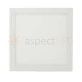 "12"" Ultra-Thin Square Surface Mount Light - 24 Watt (175 Watt Equivalent)"