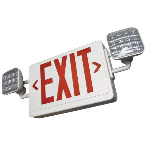 Led Exit Sign Safety Light Red Aspectled