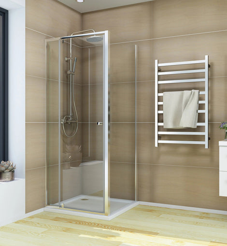 Semi-Frameless Pivot Shower Screen Cubical Adjustable