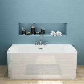 Bathroom Square Freestanding Bath tub Acrylic-1500/1700x750x580mm