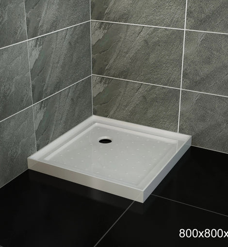 Square Shower Screen Base Thickened Acrylic