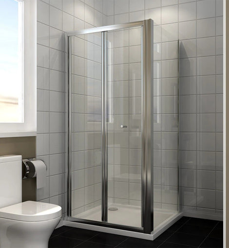 Folding Shower Screen Enclosure Space Saving Fits