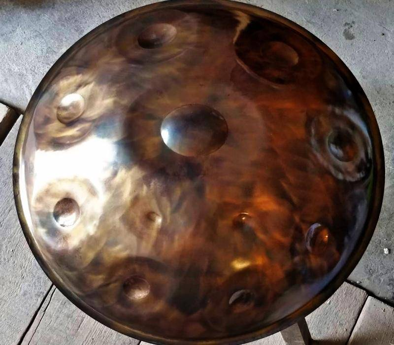 Windharp <br> F PygmyNox 9-10 - Handpan.World
