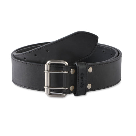 392752 - 2 Inch Wide Work Belt in Top Grain Leather in Black Color