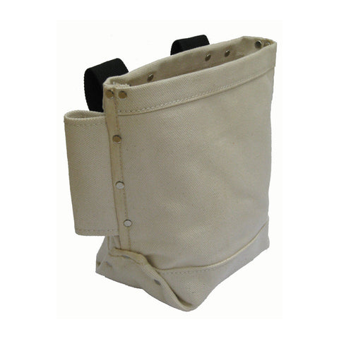 Style n Craft's 60515 Bolt Bag in Canvas with Double Bull Pin Loops - Front Angled View