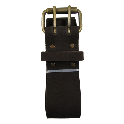 74052 -2 Inch Wide Work Belt in Top Grain Oiled Leather