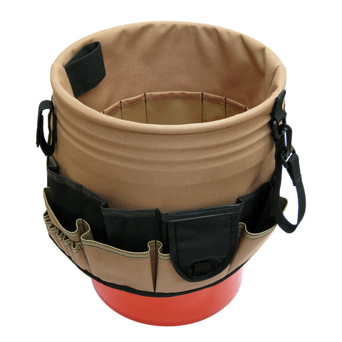 48 Pocket Bucket Organizer in Polyester