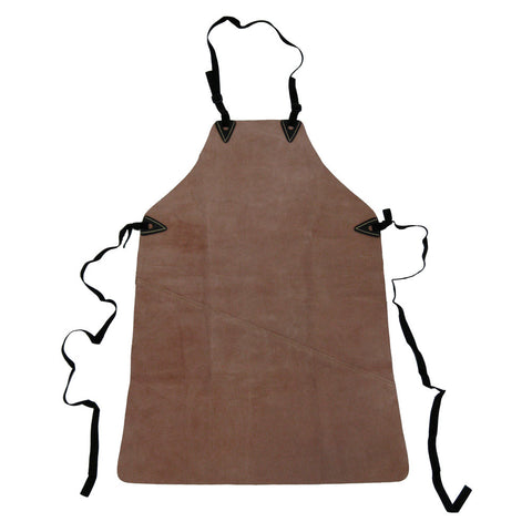 81201 - Welder's Apron in Heavy Duty Suede Leather