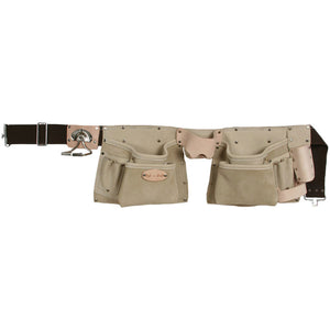 92427 - 10 Pocket Tool Belt in Top Grain Leather