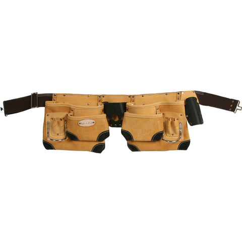 93428 - 10 Pocket Tool Belt in Top Grain Leather