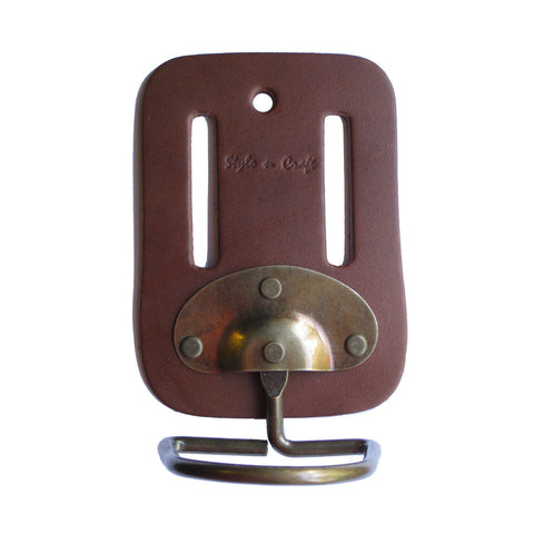 98007 - Swivel Hammer Holder in Heavy Top Grain Leather