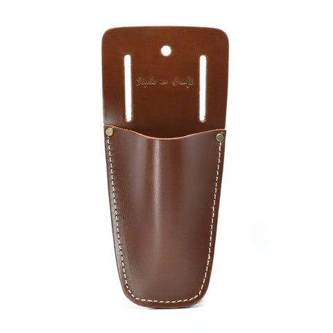 Style n Craft 98008 - Pliers/Tool Holder in Heavy Top Grain Leather in Dark Tan Color