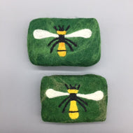 Bee Felted Soap