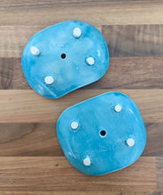 Load image into Gallery viewer, Ceramic Soap Dish - Blue Splash