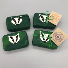Load image into Gallery viewer, Badger Felted Soap