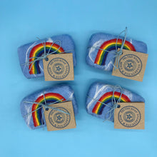 Load image into Gallery viewer, Rainbow Felted soap