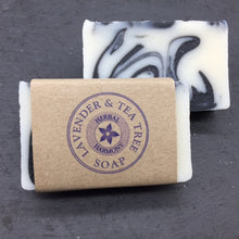 Load image into Gallery viewer, Lavender & Tea Tree Soap