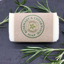 Load image into Gallery viewer, Rosemary & Cedarwood Soap
