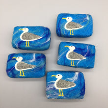 Load image into Gallery viewer, Seagull Felted Soap