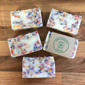 Spearmint Confetti Soap