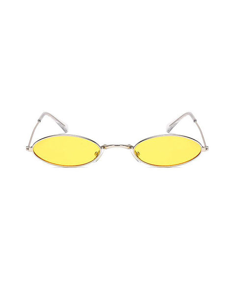 OVAL - SILVER YELLOW
