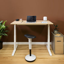 Load image into Gallery viewer, Slide Single Height Adjustable Electric Desk - 1200mm Wide