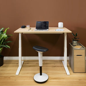 Slide Single Height Adjustable Electric Desk - 1200mm Wide