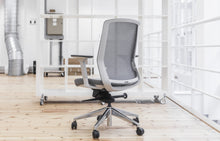 Load image into Gallery viewer, J1 Task Chair - Grey & White