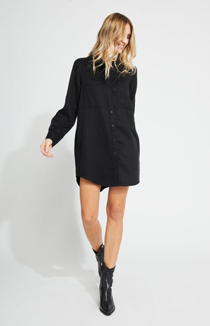 Aiden Dress Black
