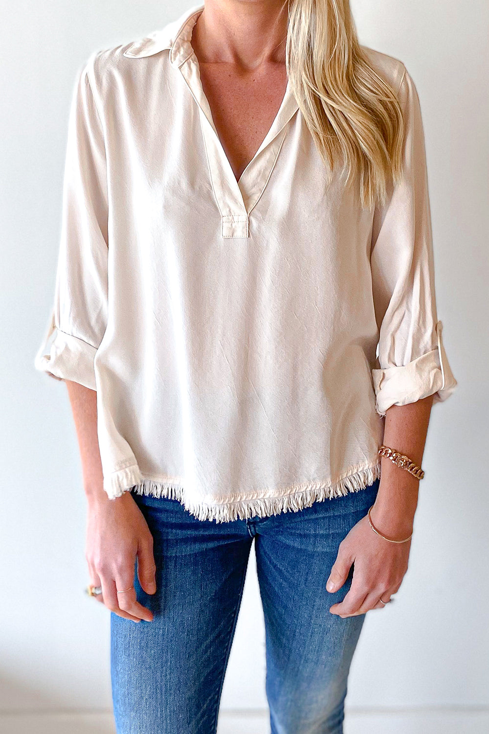 Silky Cream Top