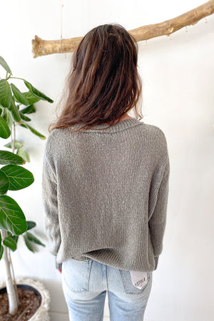 Snow Bunny Cropped Sweater