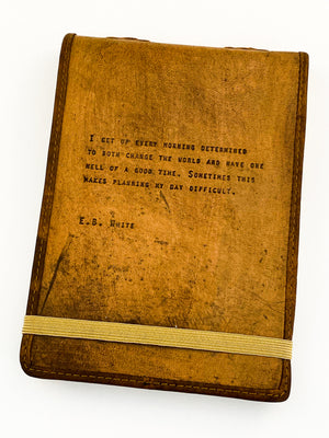Leather Journal E.B. White