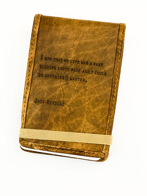 Leather Journal Jack Kerouac