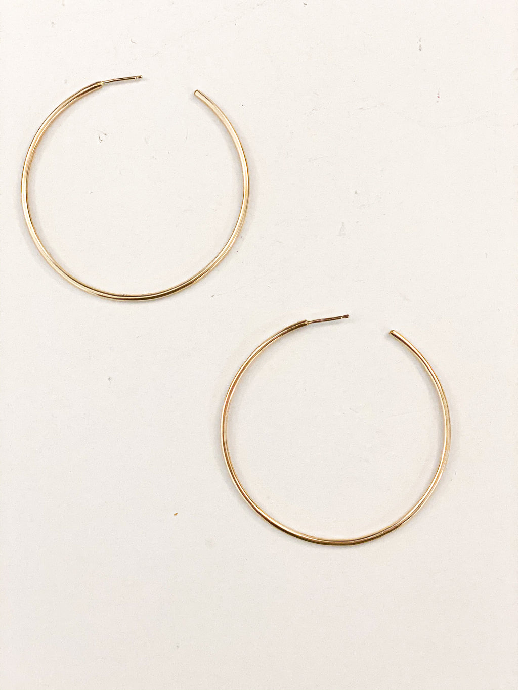 Primary Gold Hoops
