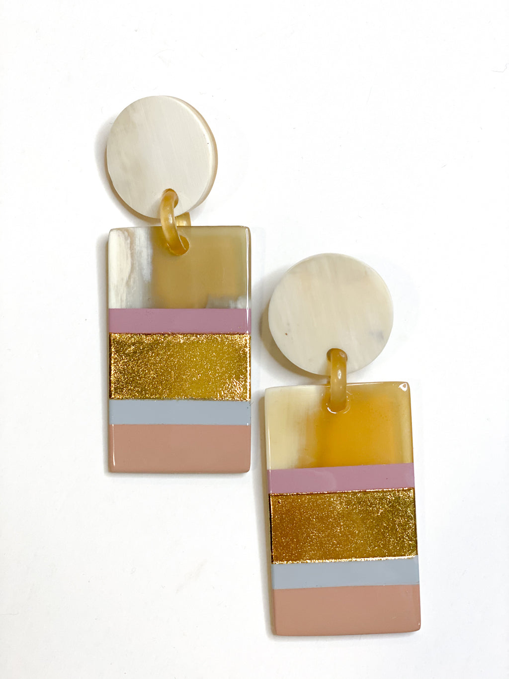 Rose Layer Cabana Earrings