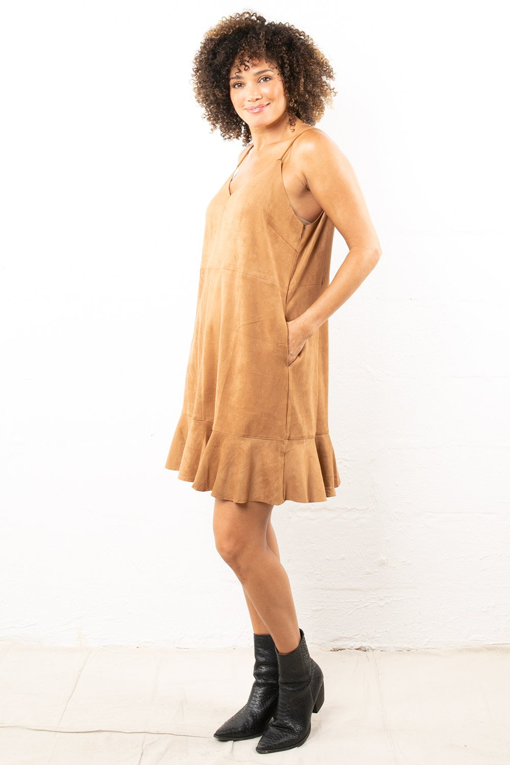Connor Suede Dress