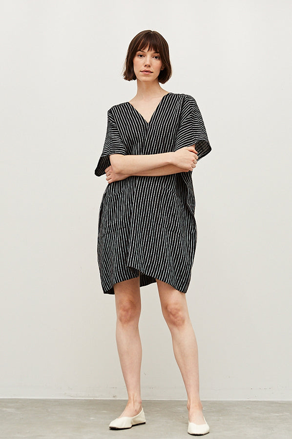 Cece Oversized Dress Black