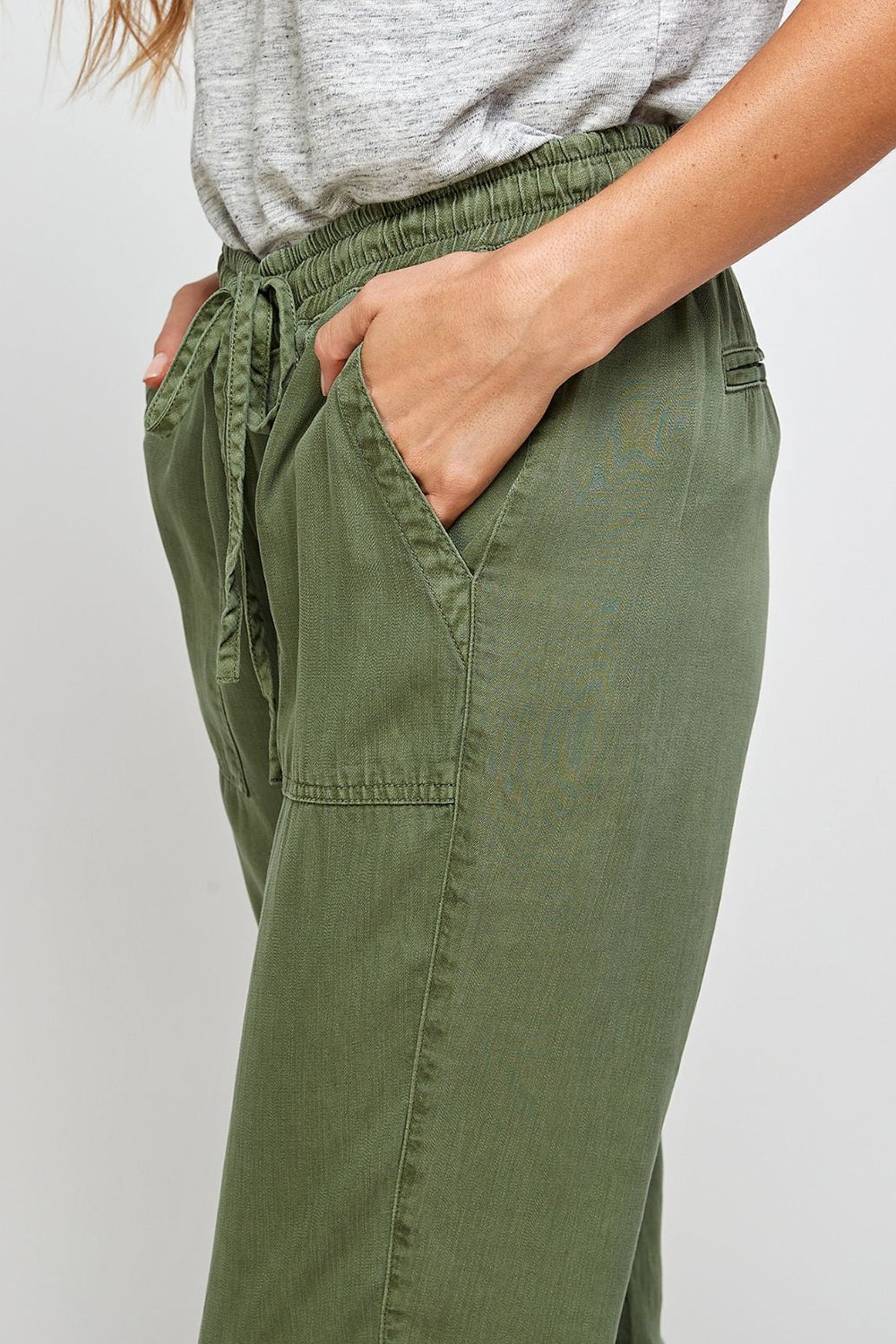 Serena Faded Jogger Green
