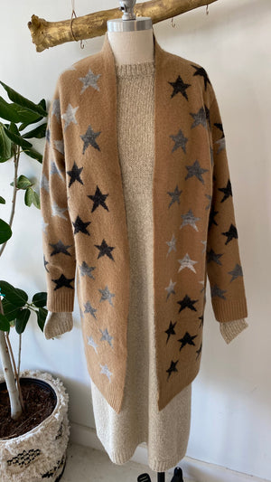 Deena Star Cardigan Medium