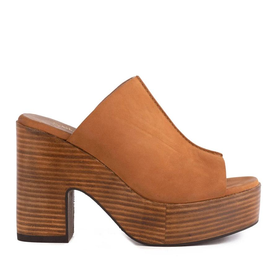 Invigorated Heeled Mule