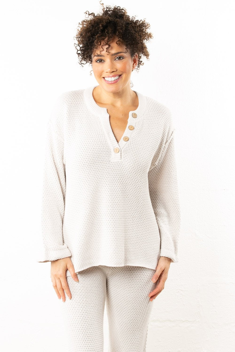 Snowy Long Sleeve Top