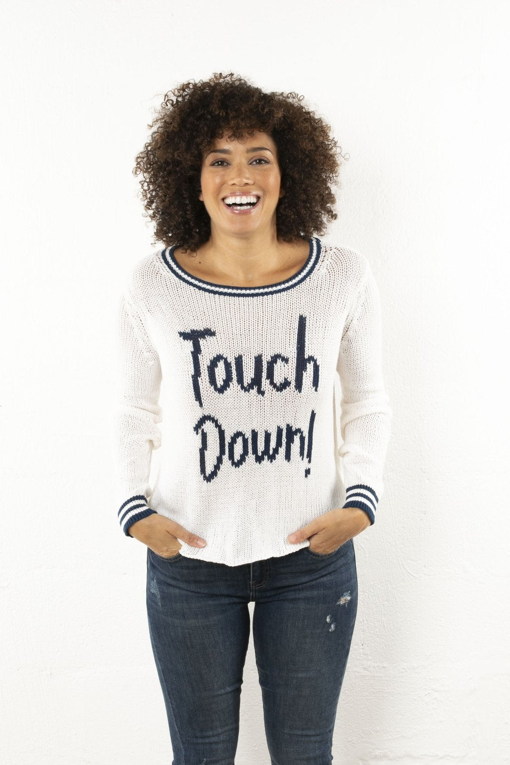 Touch Down Sweater
