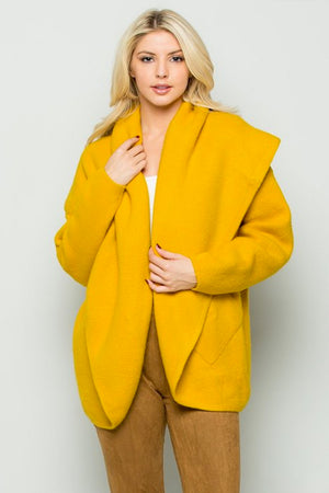 Mustard Soft Touch Cardigan