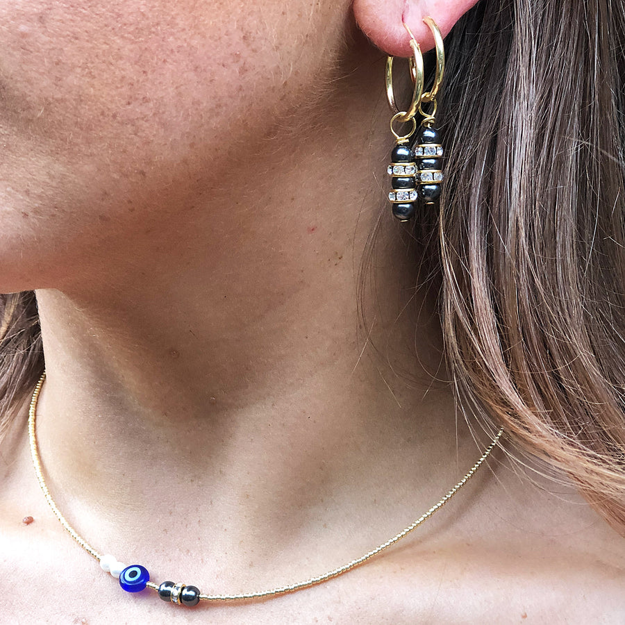 SHELLEY MINI DROP EARRINGS