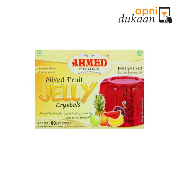 Ahmed Mixed Fruit Jelly 85G - Apni Dukaan NSW